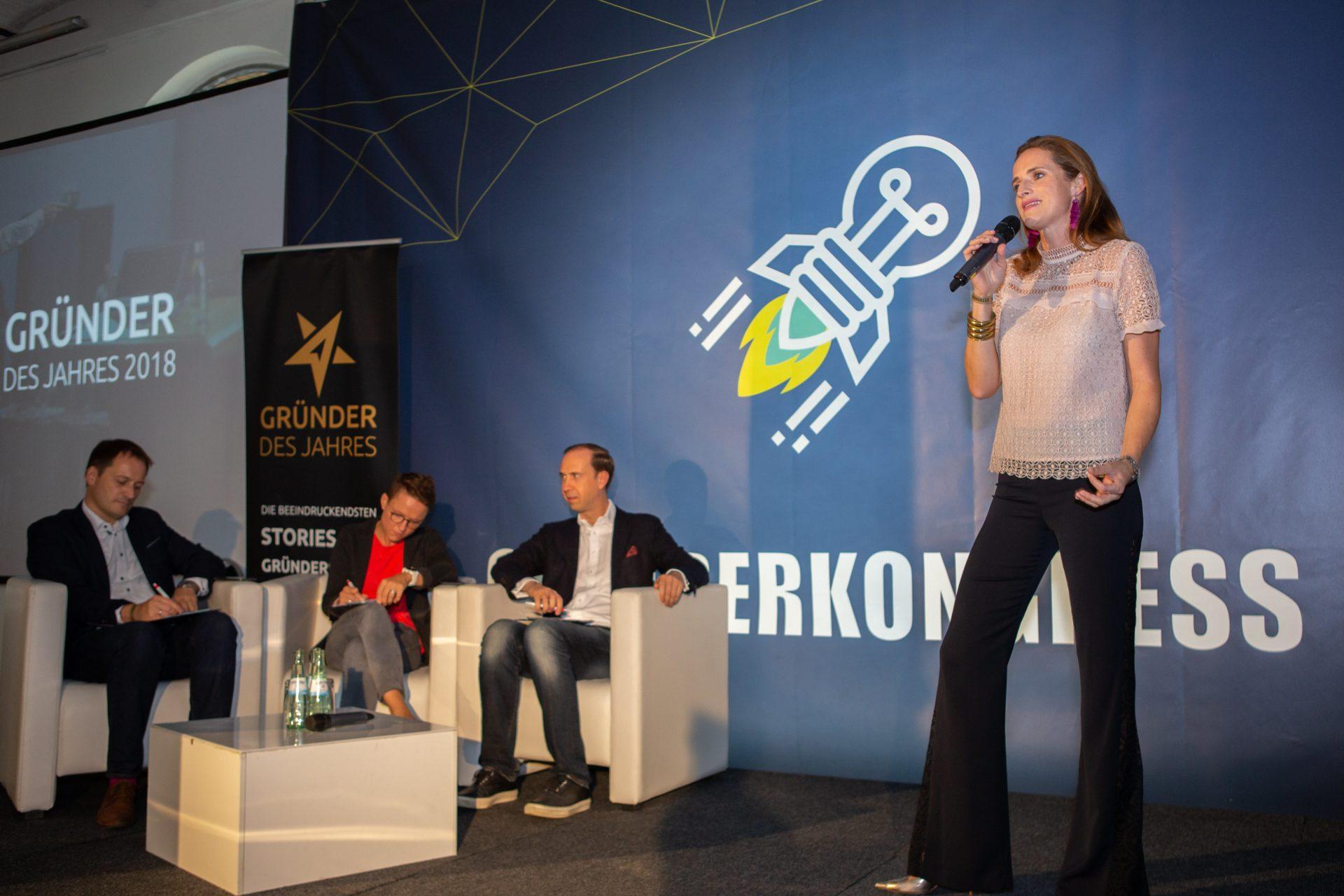Award-Verleihung 2018: Verena Pausder (Startup Teens)