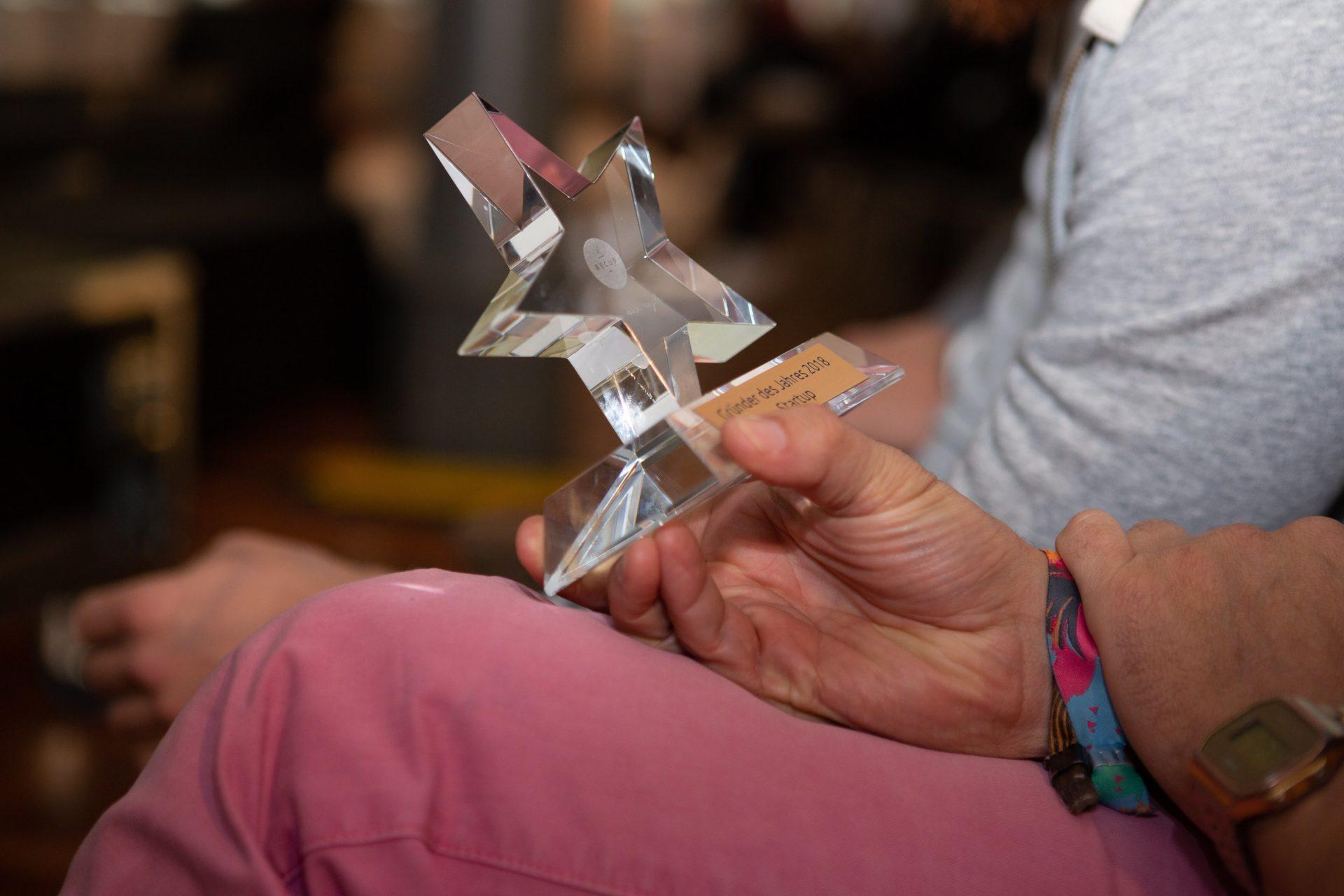Award-Verleihung 2018: Der Gründer des Jahres Award 2018