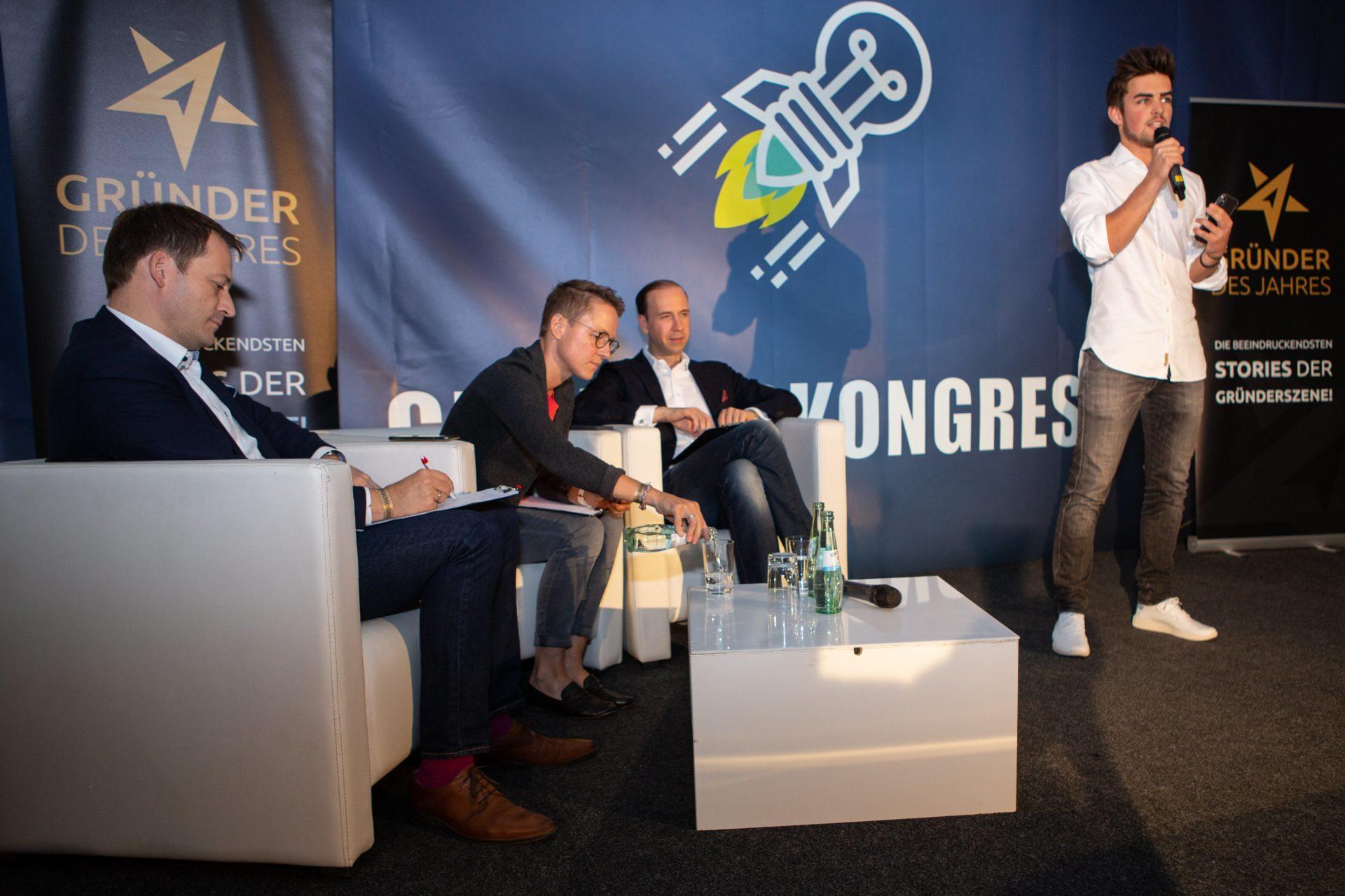 Award-Verleihung 2018: Rubin Lind, Gewinner Gründer des Jahres 2018