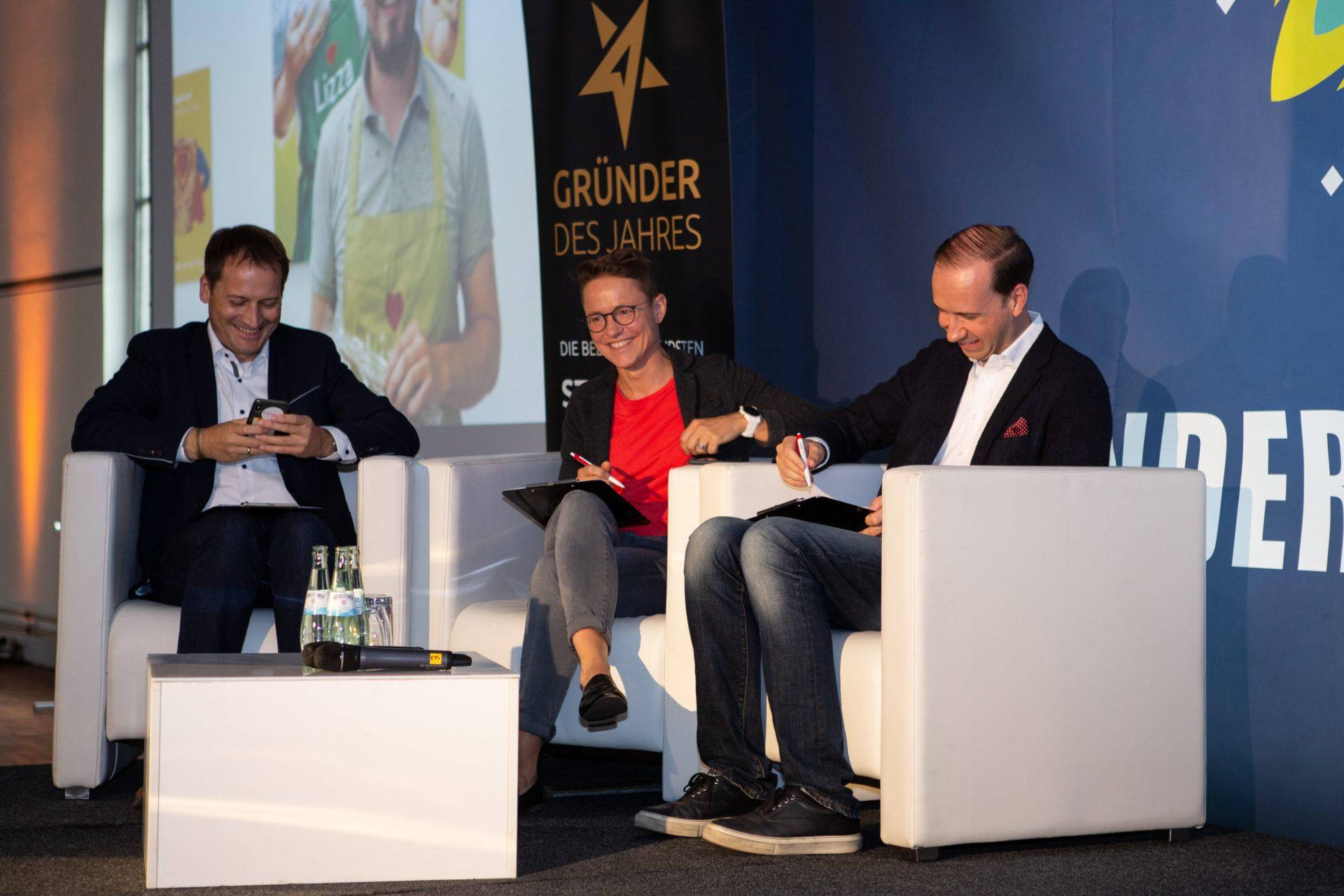 Award-Verleihung 2018: die Jury