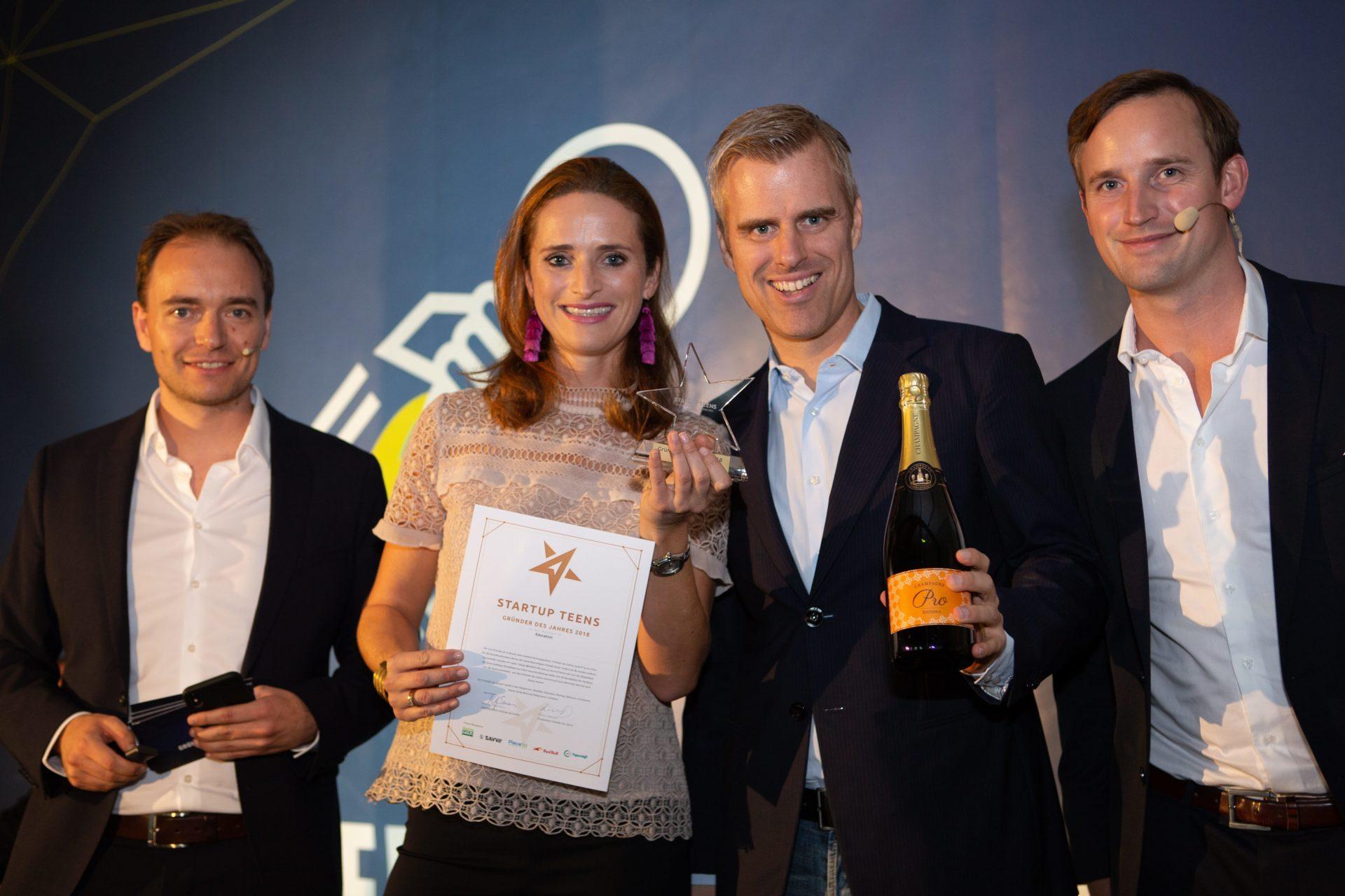 Award-Verleihung 2018: Startup Teens